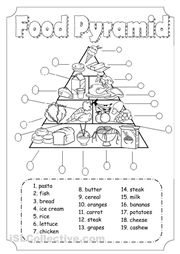 Printables Pe Worksheets 1000 images about pe worksheets on pinterest activities food pyramid