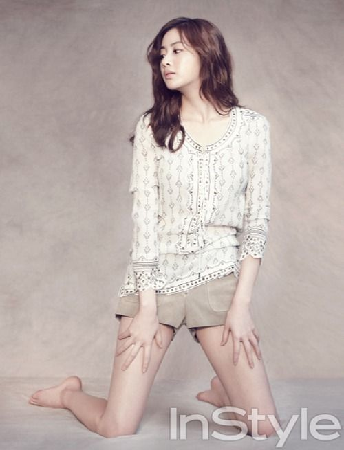 Kang Sora - InStyle Magazine July Issue '13