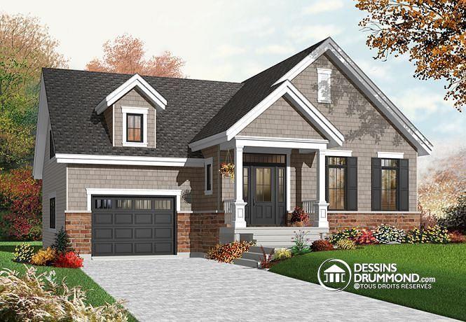 Plan de maison no. W3271 de dessinsdrummond.com
