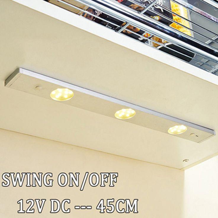 modern ir sensor under kitchen cabinet lighting fixtures on off switch wall light long aluminum. Interior Design Ideas. Home Design Ideas