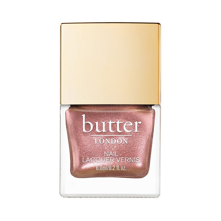 This Is the Prettiest Nail Polish Shade You Probably Aren't Wearing - Butter London Glazen Nail Lacquer in Sea Shell from InStyle.com