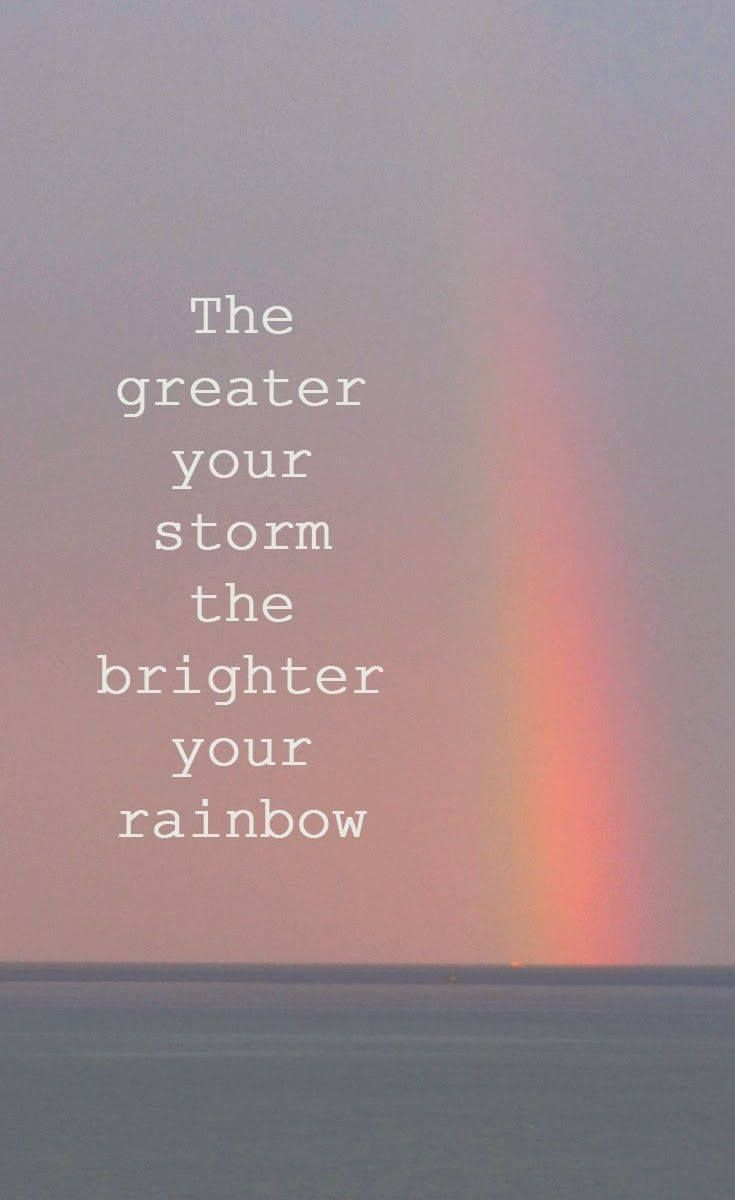 Can that rainbow start to shine..31 days seems to be a bit far..but I'm ready any day now to wake up and think this year was just a bad nightmare and non existent