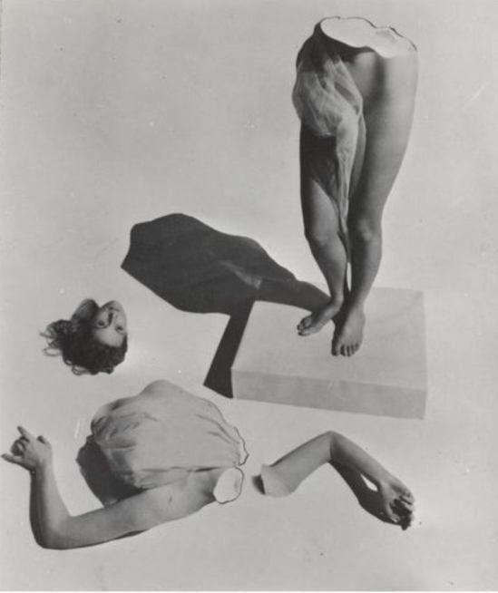 Lucien Lorelle. Femme en morceaux