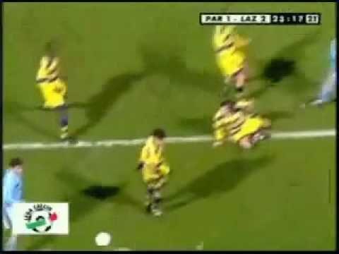 Mancini: Parma - Lazio (1999)