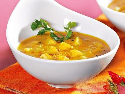 Diät-Suppen: Indische Kartoffelsuppe - Diät-Suppen