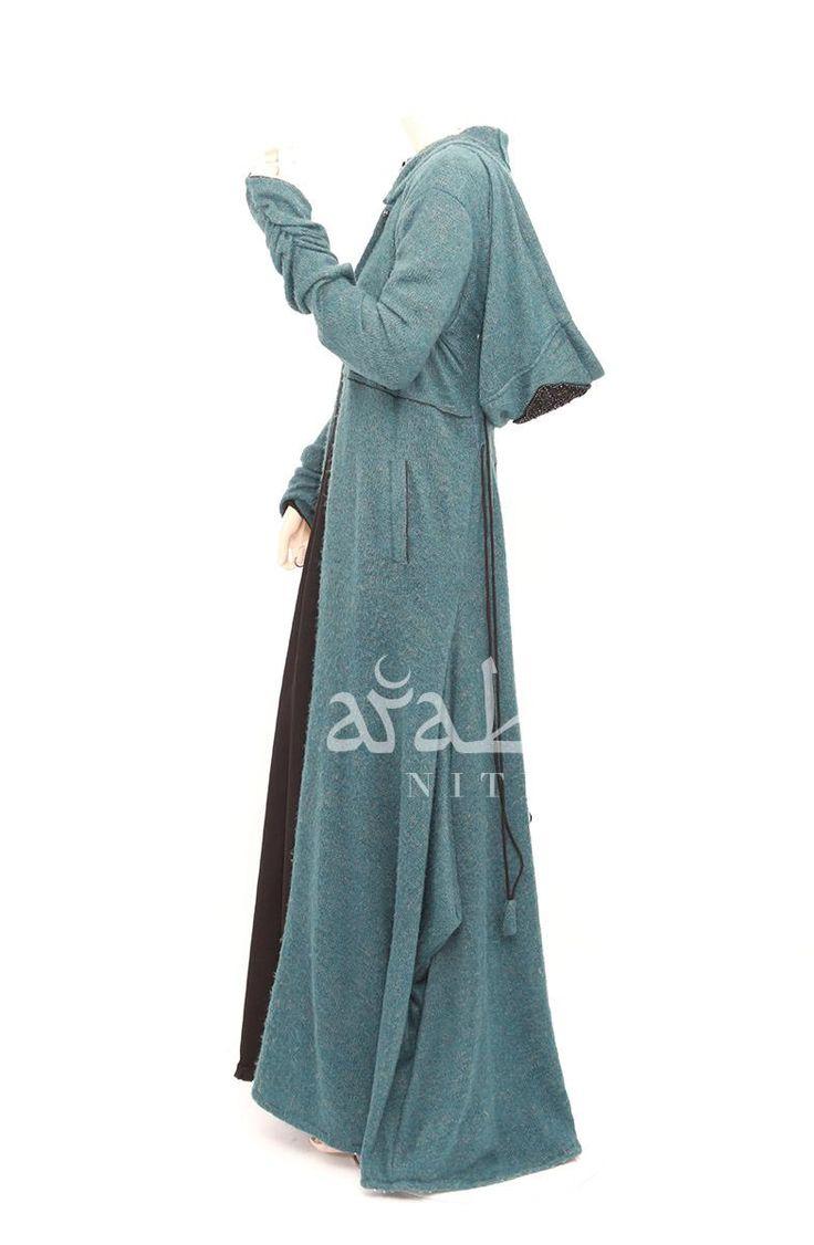 Arabian Nites Hooded Cardigan Coat