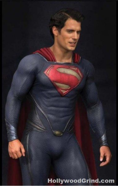 New Superman suit! Superman: Man of Steel. Coming 2013! Oh Henry cavil, you beautiful man.