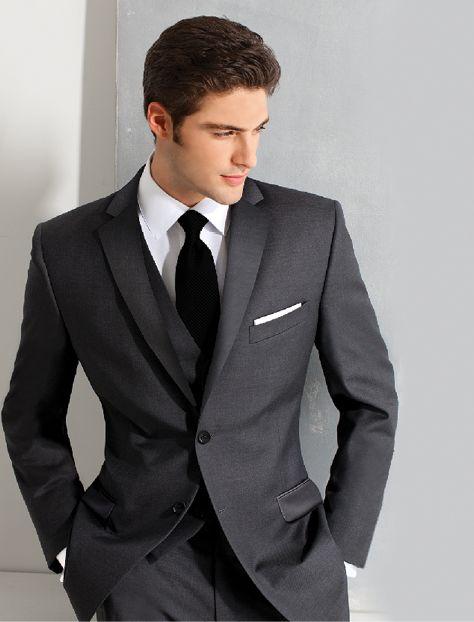 Collins Formal Wear - Charcoal_Prestige by Ike Behar  http://www.collinsformalwear.com/catalogue.html