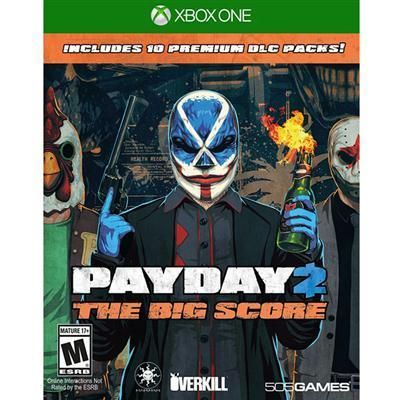 Payday 2: The Big Score Xbo