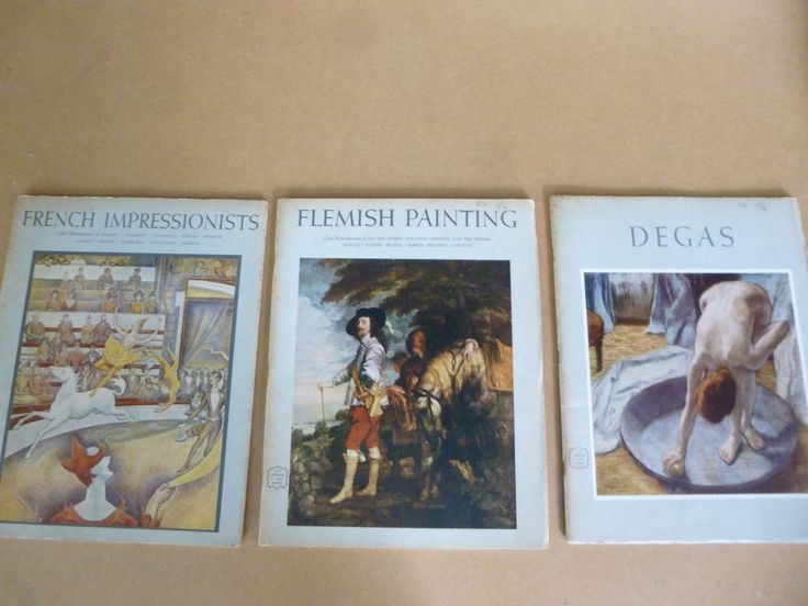 ABRAMS ART BOOKS COLLECTION - DEGAS, FRENCH IMPRESSIONISTS, FLEMISH PAINTING LOT