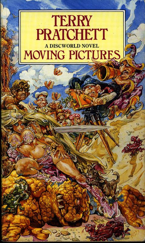 Moving pictures by Terry Pratchett (Discworld novel)