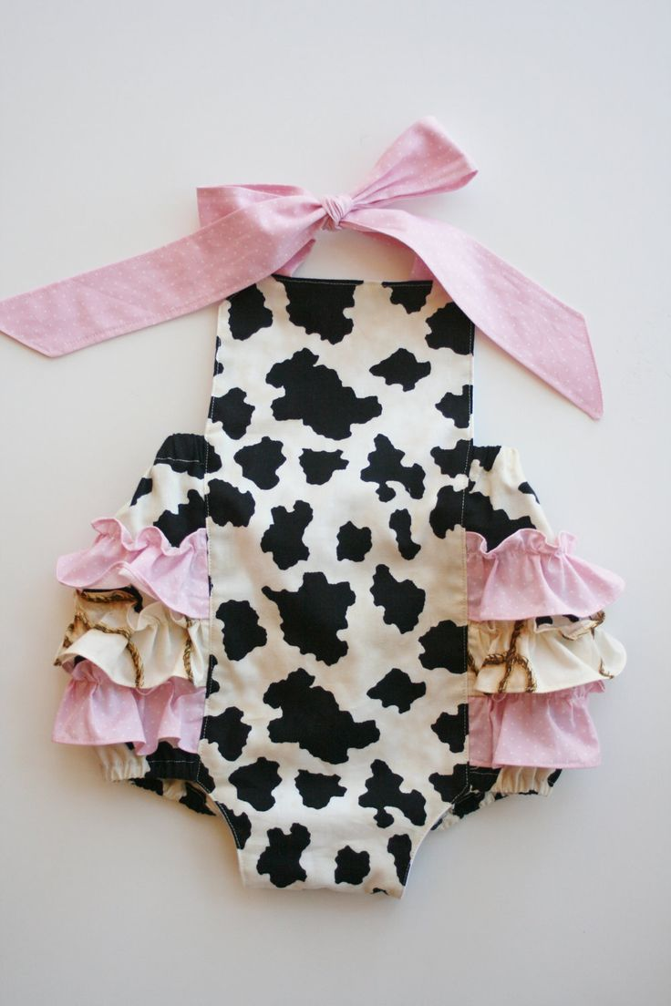 Baby Girl Sunsuit Ruffle Romper Saddle up Cowgirl hand made boutique western...Love Tay Boutique. $38.00, via Etsy. VIVI :)
