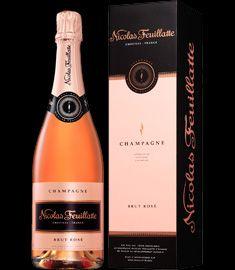 Etui Bouteille Champagne Nicolas Feuillatte Brut Rosé