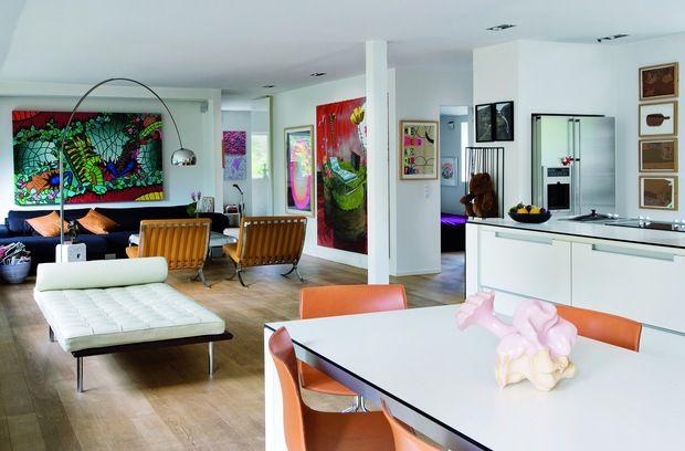 Galería de arte dentro de una casa - La casa de Freja                                                                                                                                                                                 Más