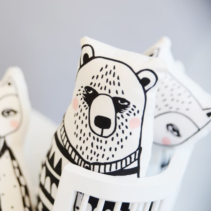 Cool woodland creatures from Finland by Foxella & Friends