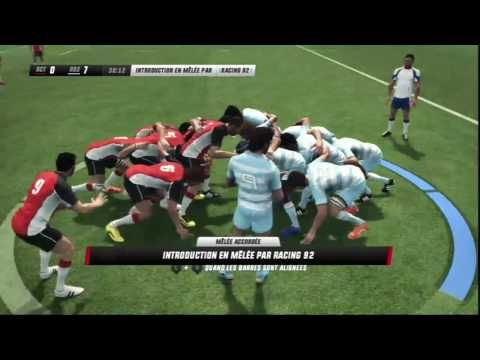►[HD]Rugby Challenge 3 | Top 14 | RC Toulon vs Racing 92