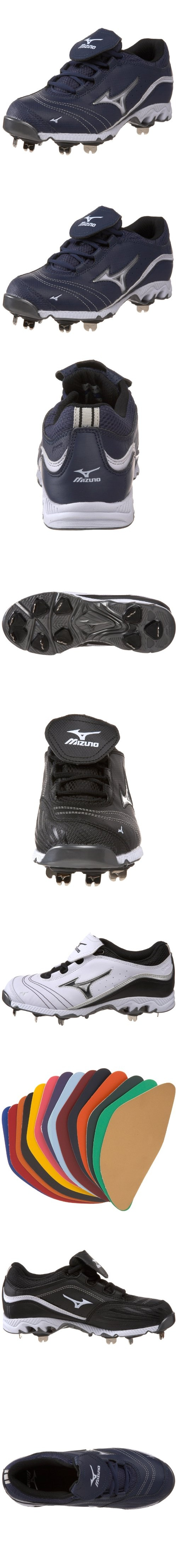 Mizuno Women's 9-Spike Swift G2 Switch Softball Metal Cleat - Mizuno Swift G2 Metal Cleats...Great Surface Grip! Mizuno is the premier company and supplier of baseball equipment to professionals for a reason. The fastpitch spike is specifically designed for comf... - Metal Cleats - Apparel