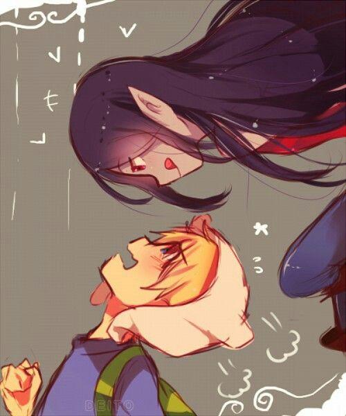 Marceline and Finn!