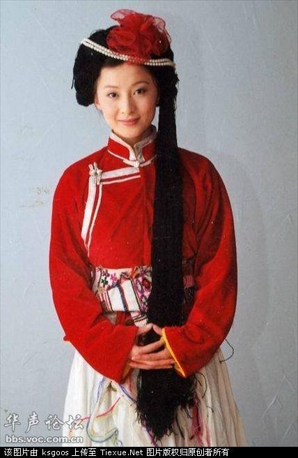 少数民族美少女 清纯民俗风情。
