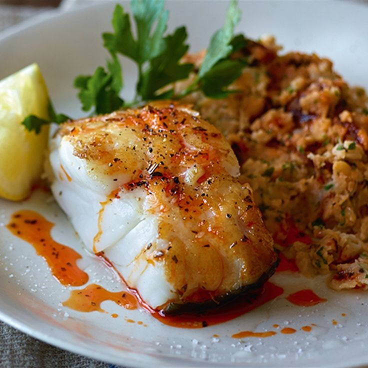 Try this Roast Cod with White Bean and Chorizo Mash recipe by Chef Rachel Allen. This recipe is from the show Rachel Allen's Coastal Cooking.