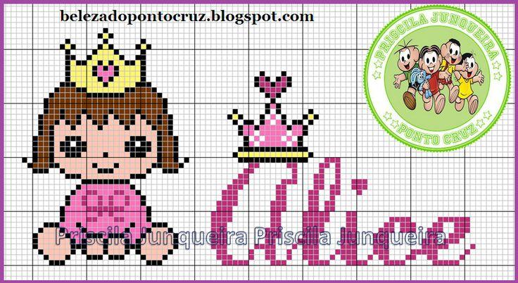 Priscila Junqueira Ponto Cruz: Princesinhas