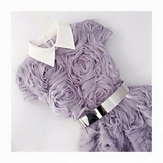 Kleid, kurzes, kurzes Kleid, violett, violettes Kleid, kurzes violettes Kleid, Rosen, Blumen, …
