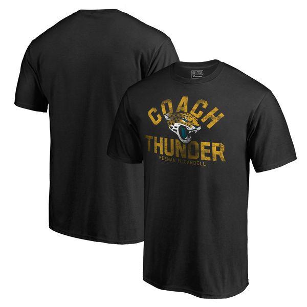 Jacksonville Jaguars NFL Pro Line by Fanatics Branded Keenan McCardell Coach Thunder T-Shirt - Black - $27.99