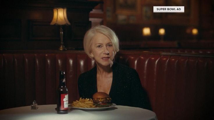 Helen Mirren doesn't mince words in a new Budweiser commercial that will air during Super Bowl 50 on Sunday.