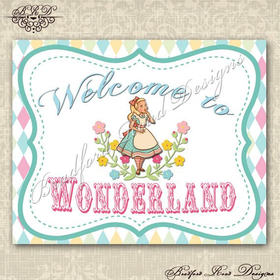 alice in wonderland invitation alice in wonderland party