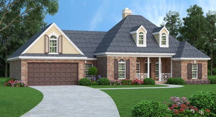 8 best southern ranch house plans images on pinterest for Houseplans bhg com