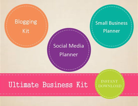 Ultimate Business Kit  Small Business Planner by MBucherConsulting
