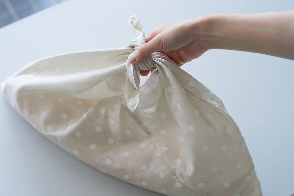 可愛い手ぬぐい、仕舞ったままになってませんか。あずま袋にすれば便利です!