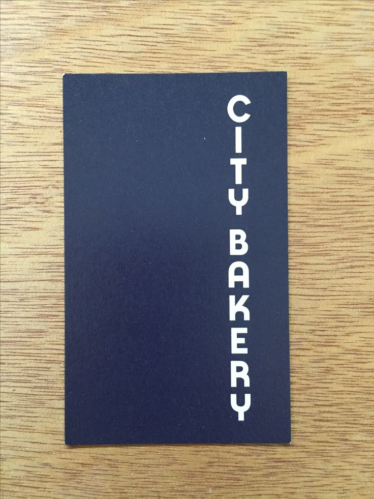 63 best business cards images on pinterest brand design visit simple right aligned logo for a chain of bakeries in tokyo reheart Image collections
