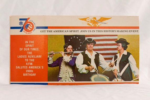 VFW Ladies Auxiliary Postcard Booklet Fundraiser, 1976