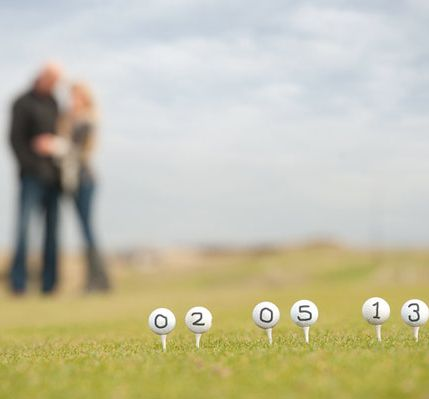 Golf Engagement Shoot idea. Let Sunnybrae Golf Club host your Wedding in our beautifully renovated Club House. Perfect for Events of up to 144 people. #beautiful #golf #wedding