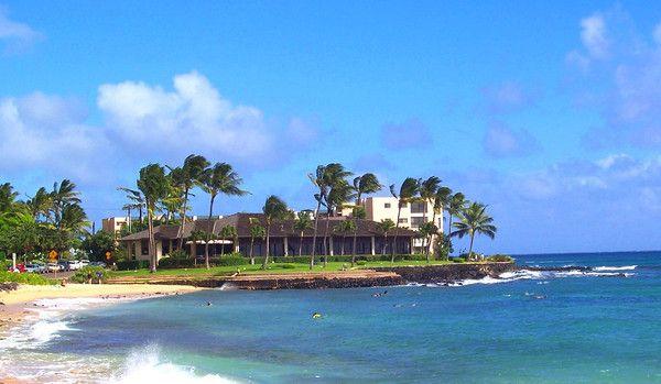 Kauai The Beach House Restaurant Poipu Beach