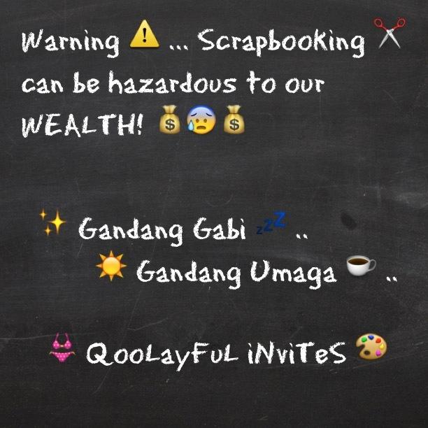 Scrapbooking....