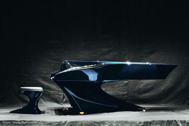 10年かけてデザインされた、流線型が美しいカーボンピアノ - ライブドアニュース                                                                                                                                                                                 もっと見る