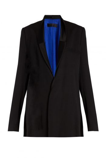 Cantar double breasted crepe jacket 220x330 What to wear to a Christening