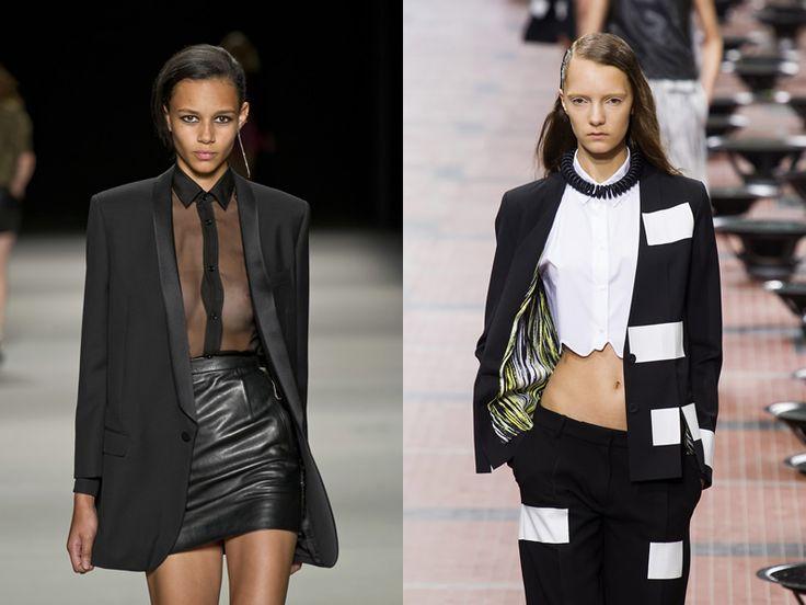 Classic o Cool? Blazer, giacche e smoking nelle nuove collezioni primavera estate 2014