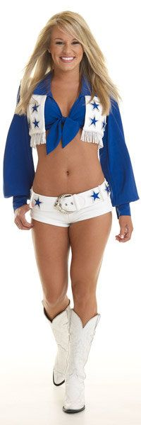 Mackenzie Lee of the Dallas Cowboys Cheerleaders