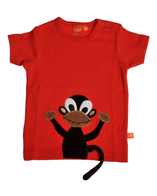 T-shirt Red Monkey