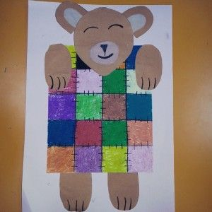 free bear craft idea for kids (5)
