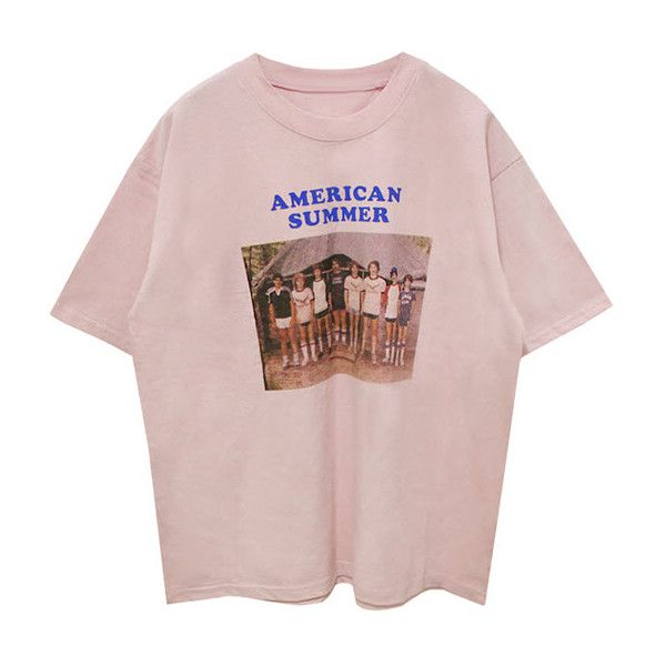 American Summer T-shirt (£37) ❤ liked on Polyvore featuring tops, t-shirts, shirts, clothing - ss tops, summer tees, summer shirts, americana shirts, america t shirts and tee-shirt