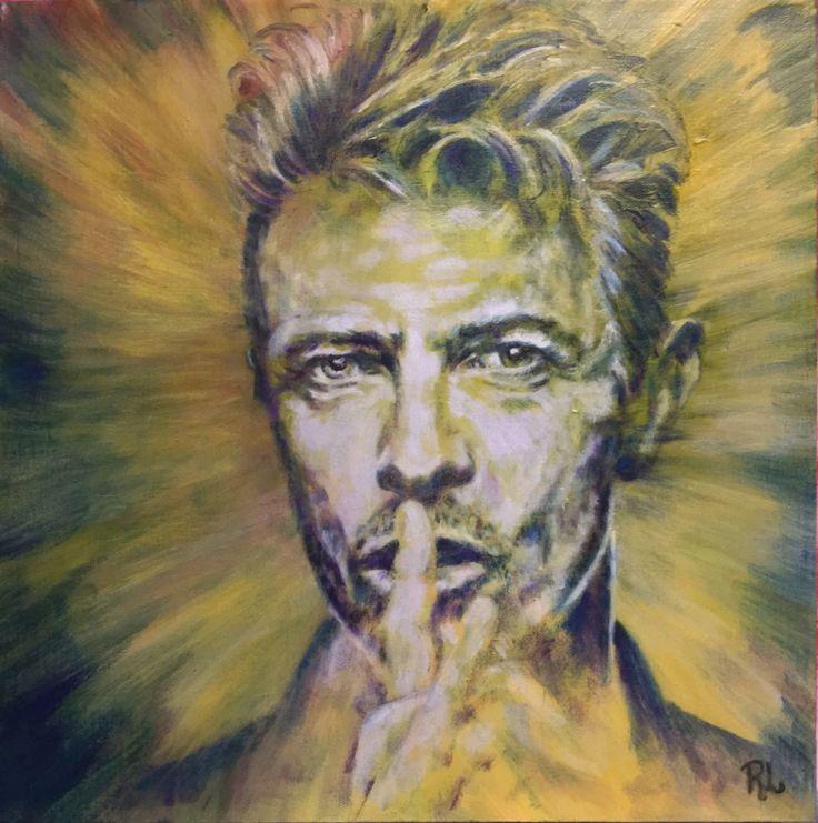 #Bowie#40X40#rithva.dk#