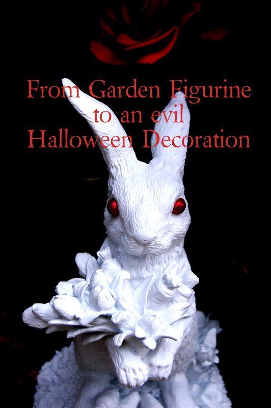 Scary Halloween Rabbit