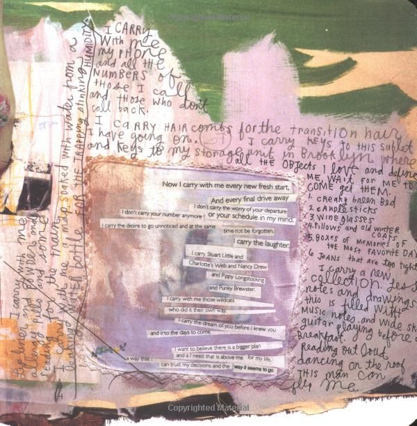 The True and the Questions: A Journal by Sabrina Ward ... Sabrina Ward Harrison Sketchbook