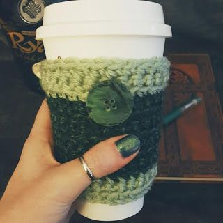 Check out these cute Irish coffee cozies / sleeves for St. Patrick's Day! Celebrate your love for all things Ireland and Celtic with these coffee and tea accessories!