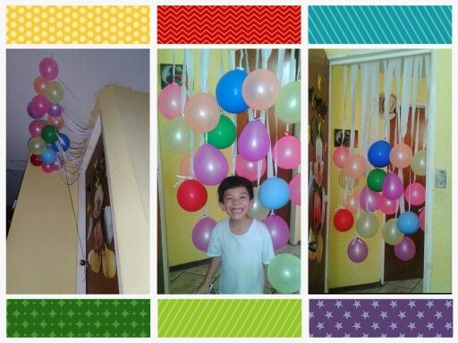 Birthday morning surprise sorpresa lluvia de globos al - Ideas para cumpleanos sorpresa ...