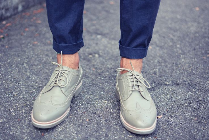 Amsterdam Shoe Co. Wingtip Clay Leather